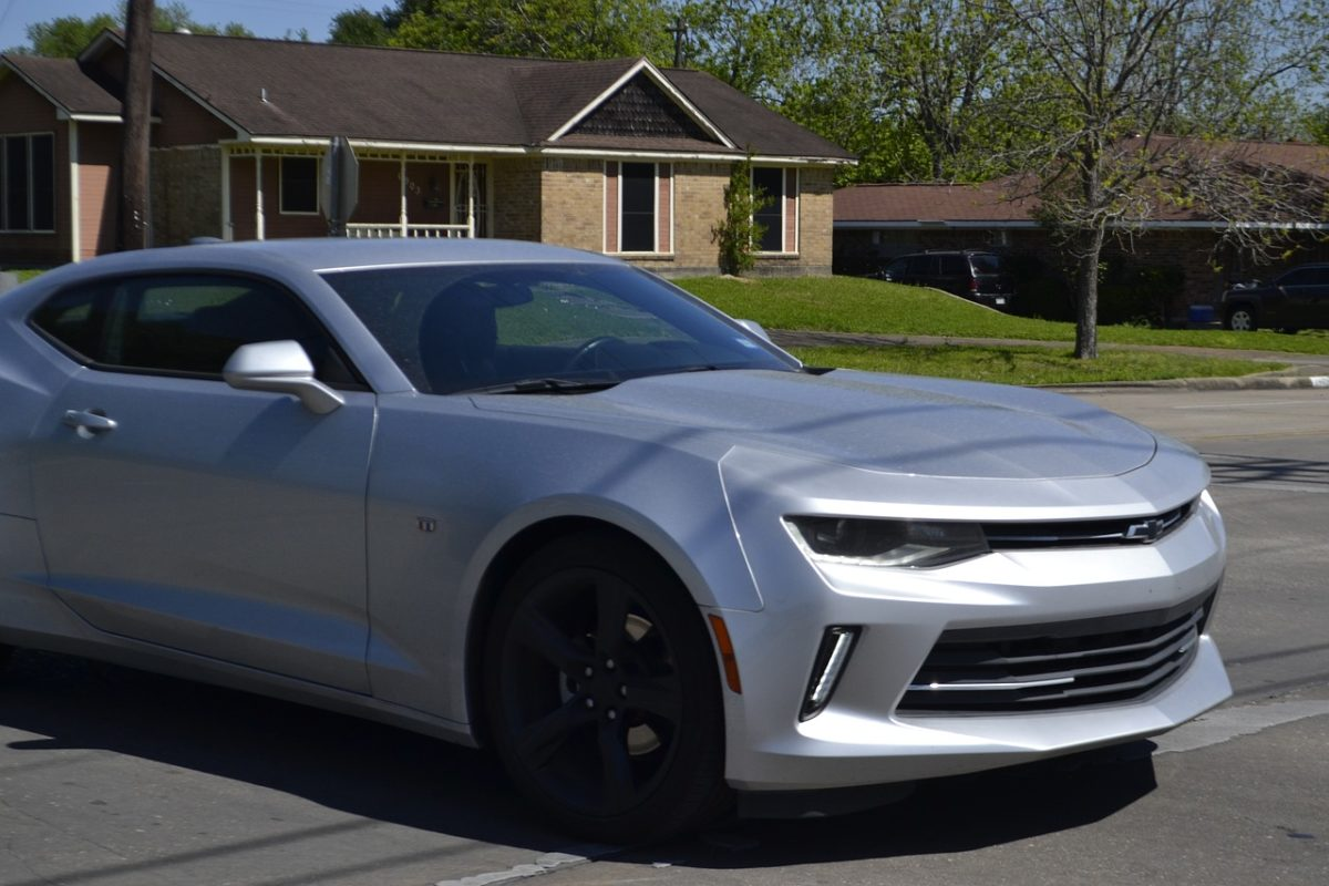 woman drives off cliff camaro
