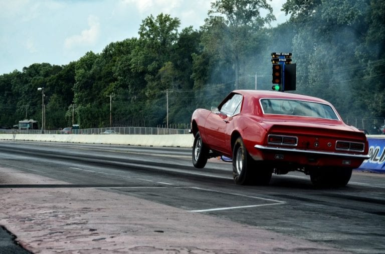 Is drag racing illegal?