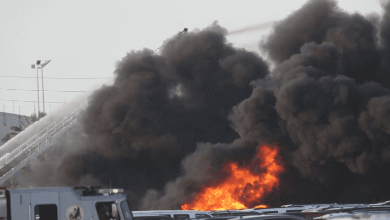 3,500 cars catch fire at Florida International Airport