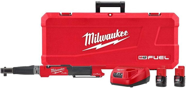 This Milwaukee M12 torque wrench will practically do the work for you.
