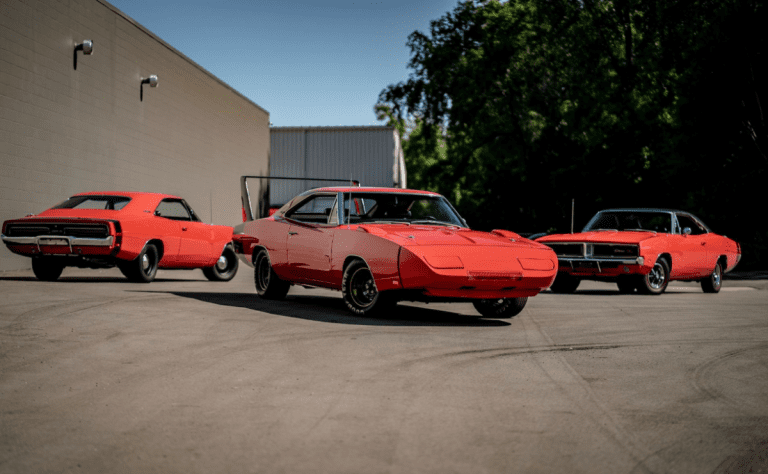 Three matching Dodge Chargers for sale. Although there is a catch