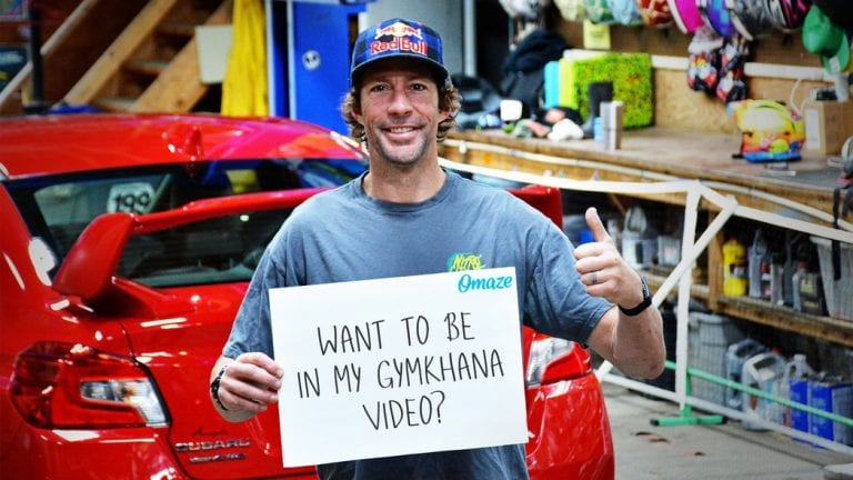 Want to be in the next video of Ken Block's Gymkhana Series?