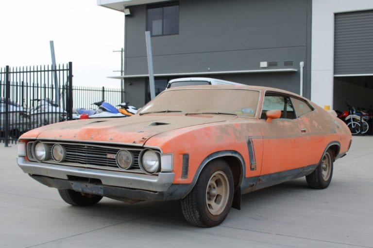 A barn find Ford Falcon sells for $215,000