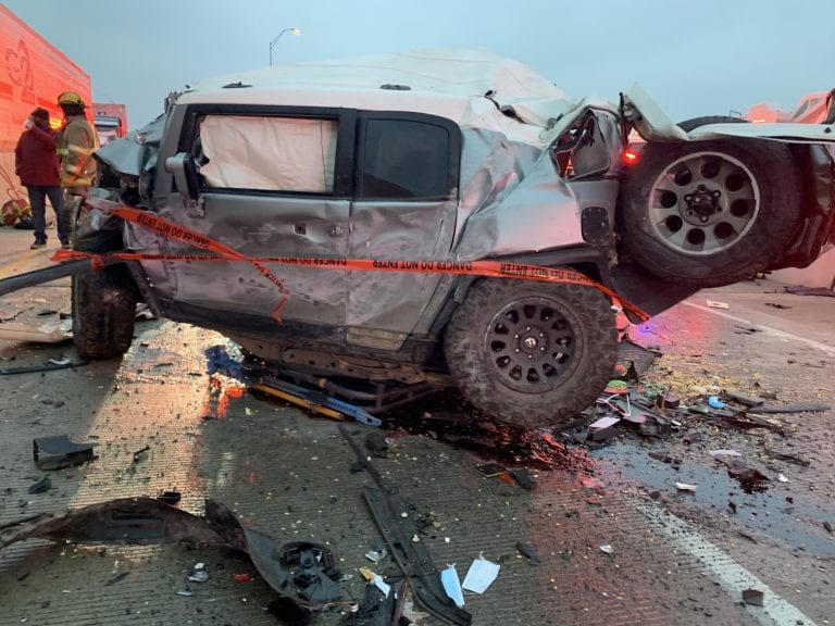 Toyota gives a paramedic a new SUV after his was destroyed during the Texas winter storm