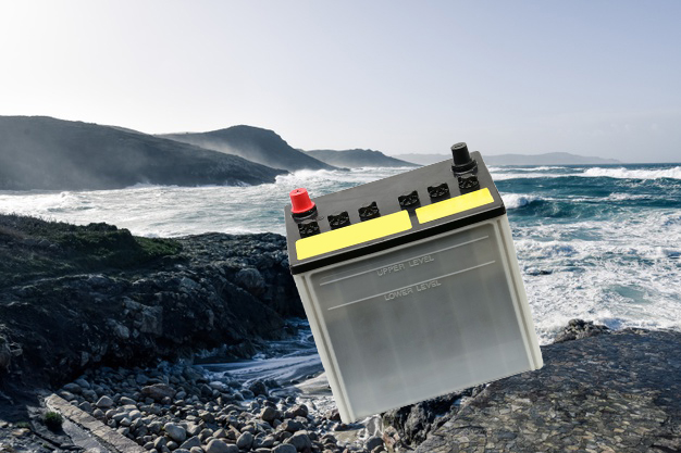 Why was Google (search) telling people to throw their car batteries into the ocean?