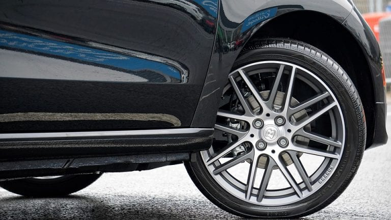 What holds wheels on a car?