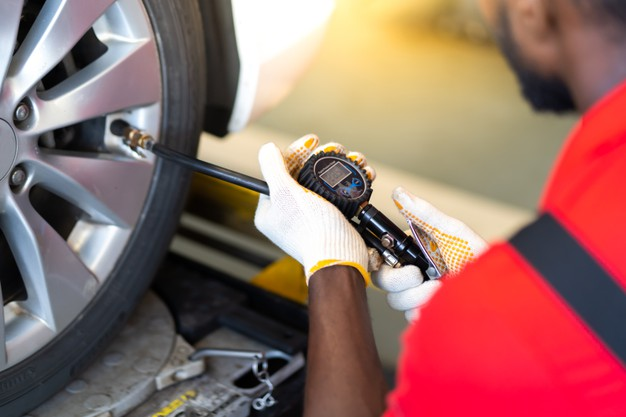What is the recommended tire pressure for 51 psi max?
