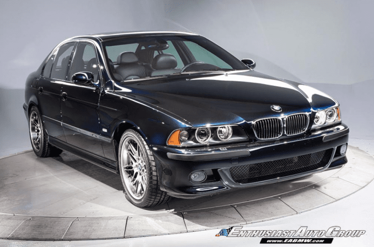 A 2003 BMW E39 M5 recently sold for over $200,000