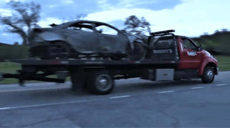 A woman got set on fire after hoarding gas in a Pontiac G6. Yes, another one