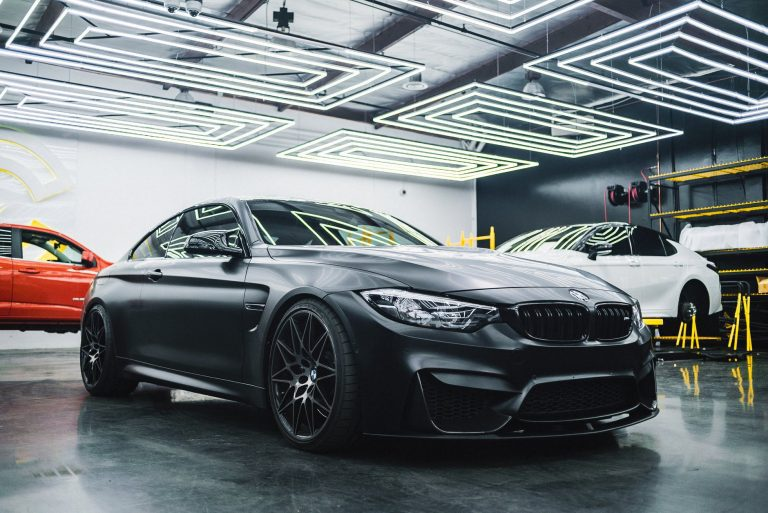 What does black on black mean for a car?